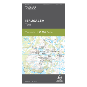 Jerusalem 1:50,000 Topographic Map