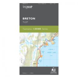 Breton Topographic Map