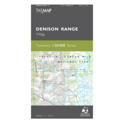 Denison Range 1:50,00 Topographic Map