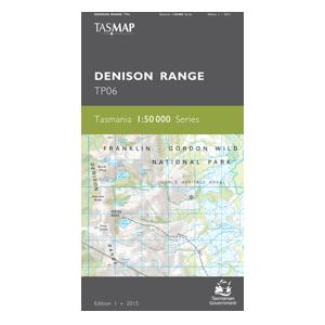 Denison Range 1:50,00 Topographic Map