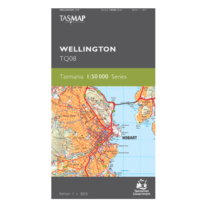 Wellington 1:50,000 Topographic Map
