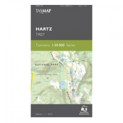 Hartz 1:50,000 Topographic Map