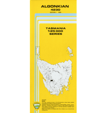 Algonkian 1:25,000 Topographic Map