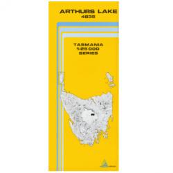 Arthurs Lake Map