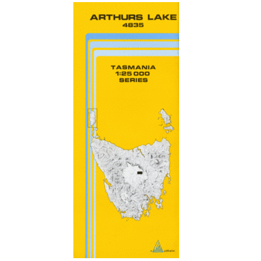 Arthurs Lake Map