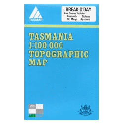Break O'Day Topographic Map
