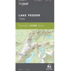 Lake Pedder Topographic Map