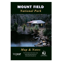 Mount Field National Park Map
