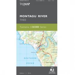 Montagu River Topographic Map