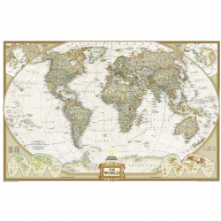 World Executive Wall Map