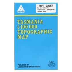 Port Davey Topographic Map