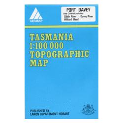 Port Davey Topographic Map