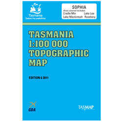 Sophia 1:100,000 Topographic Map