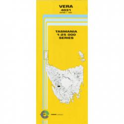 Vera Topographic Map