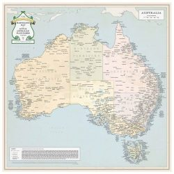 Marvellous Map of Australia