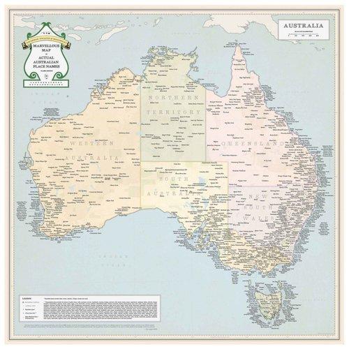 Marvellous Map of Australia