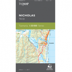 Nicholas 1:50,000 Topographic Map