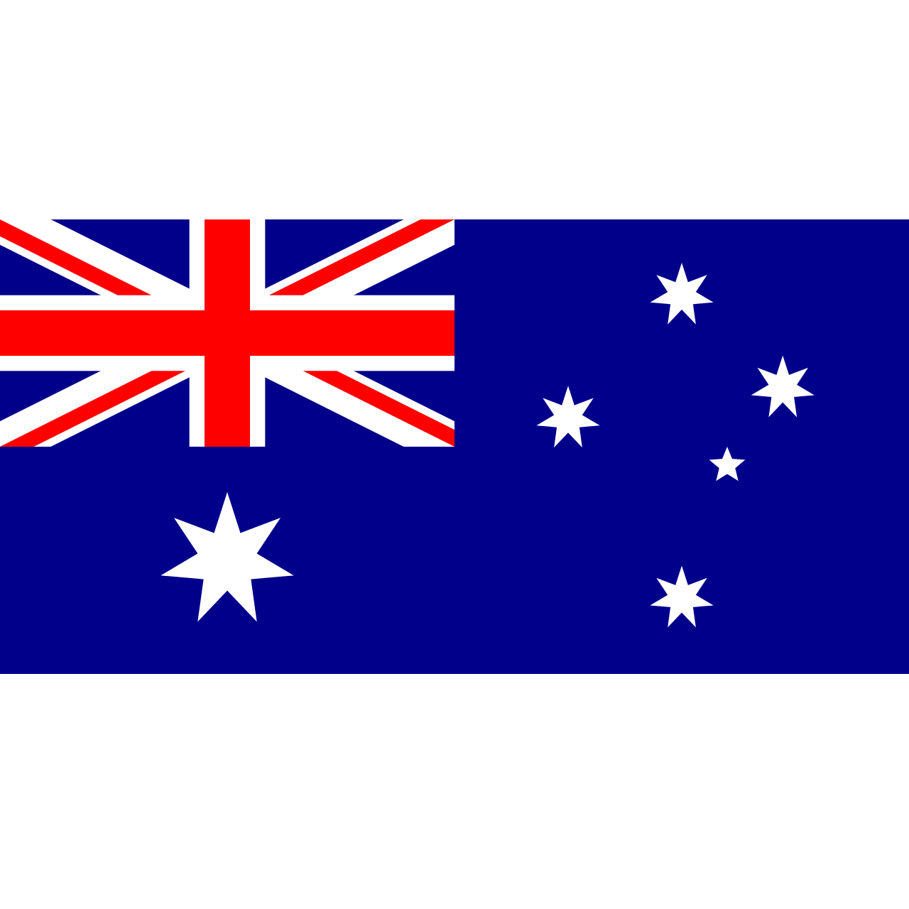 Australian Flag The Tasmanian Map Centre