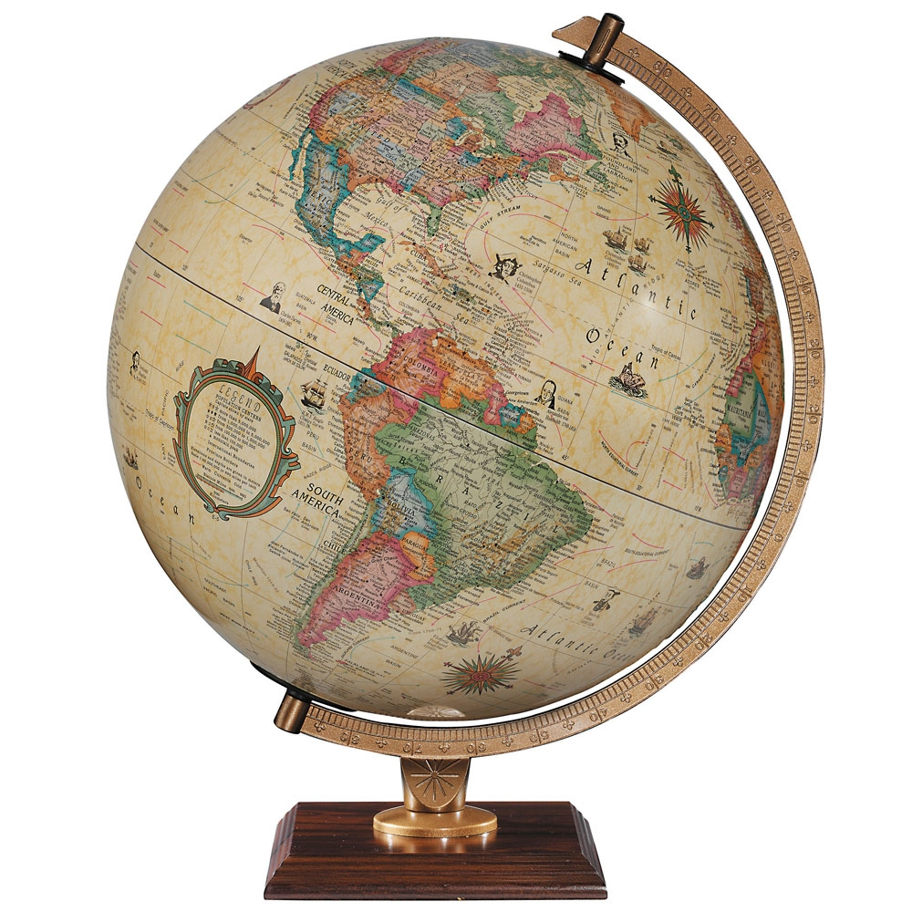 Carlyle illuminated globe 30cm antique replogle the tasmanian carlyle illuminated globe gumiabroncs Image collections