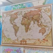 World Executive Wall Map Enlarged The Tasmanian Map Centre