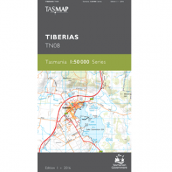 Tiberias 1:50,000 Topographic Map