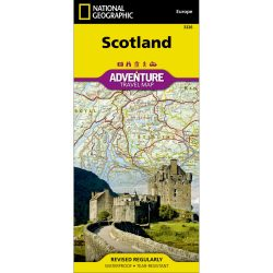 Scotland Adventure Travel Map