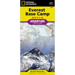 Everest Base Camp Adventure Travel Map