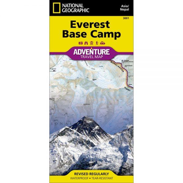 Everest Base Camp Adventure Travel Map