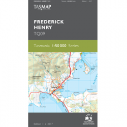 Frederick Henry 1:50,000 Topographic Map