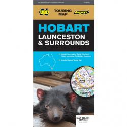 Hobart, Launceston & Surrounds Map 780/781