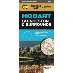 Hobart, Launceston & Surrounds Map 4