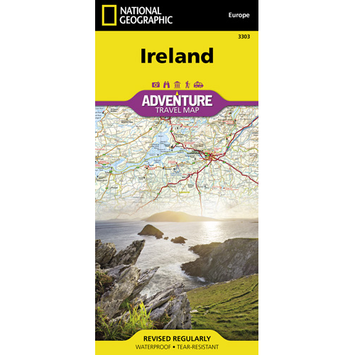 Ireland Adventure Travel Map