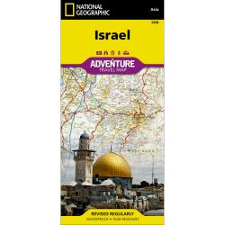 Israel Adventure Travel Map