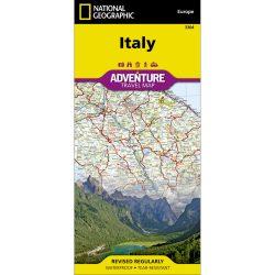 Italy Adventure Travel Map