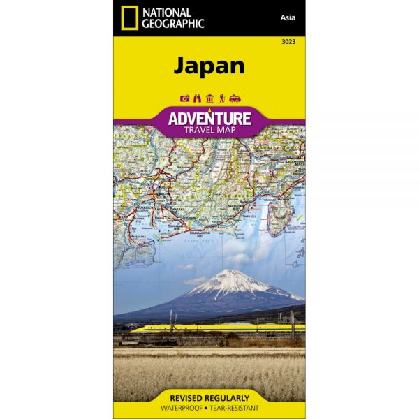 Japan Adventure Travel Map