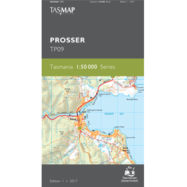 Prosser 1:50,000 Topographic Map