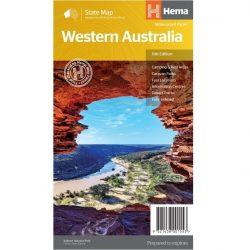 Western Australia State Map - Hema