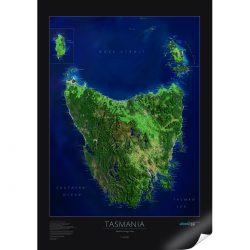 Tasmania Satellite Image