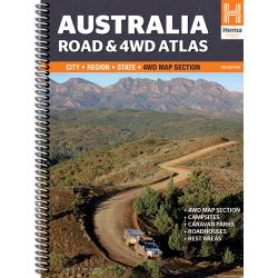 Australia Road & 4WD Atlas
