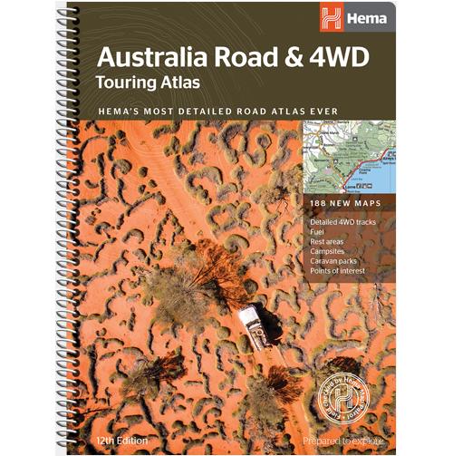 4wd Map Of Australia.Australia Road 4wd Touring Atlas
