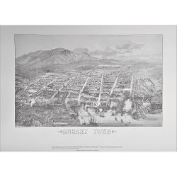 Balloon's Eye Hobart Print