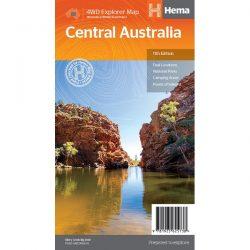 Central Australia Map