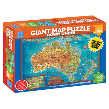 Down Under Map Puzzle