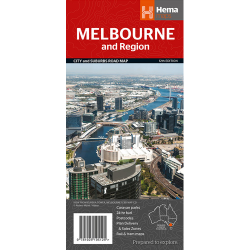 Melbourne & Region Map