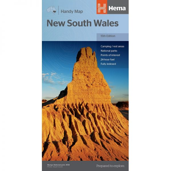 New South Wales State Handy Map