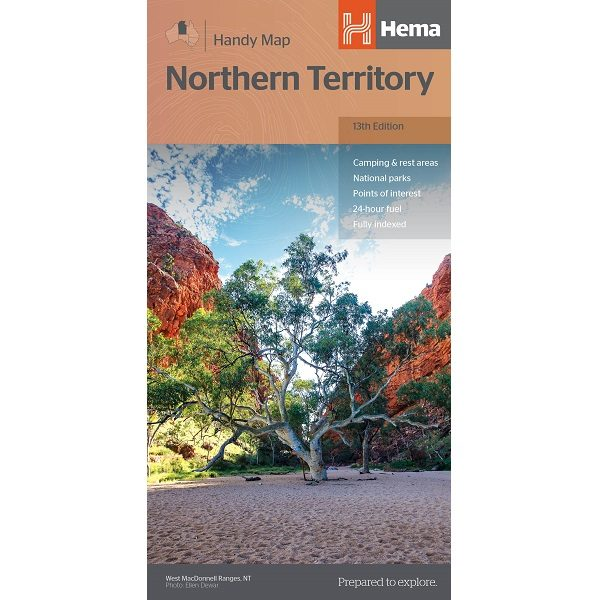 Northern Territory Handy Map