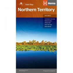 Northern Territory State Map