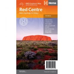 Red Centre Map