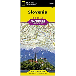 Slovenia Adventure Travel Map