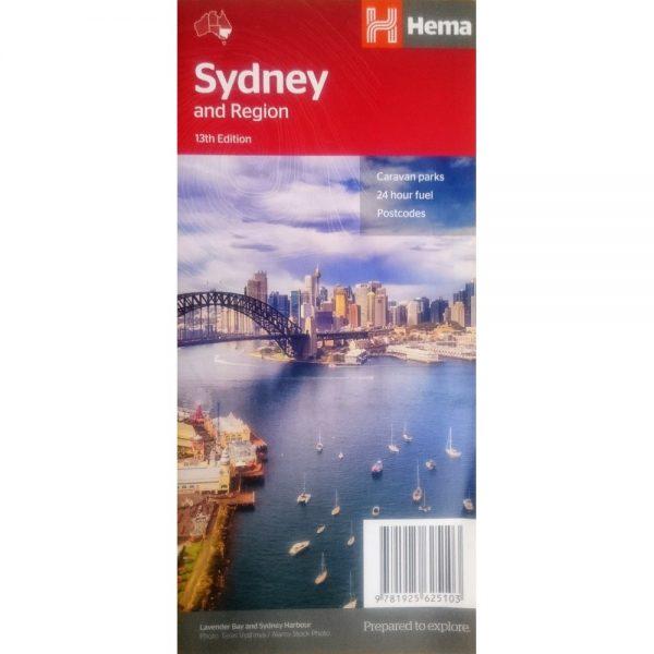 Sydney & Region Map